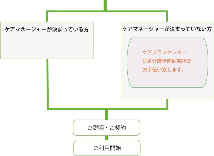 ケアマネ有無_flow